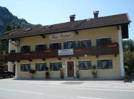 Haus Stefanie, Inzell (Weißbach yakınında)