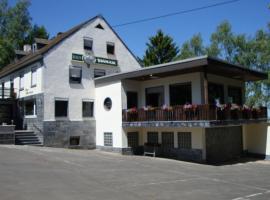 Holiday home Fernblick 1, Lauperath (Kinzenburg yakınında)