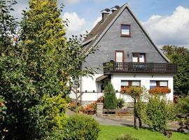 Apartment Vakantiewoning Hanjürgens 1, Winterberg (Langewiese yakınında)