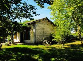 Gites du Domaine Maison DoDo, Lamonzie-Saint-Martin (рядом с городом Le Monteil)