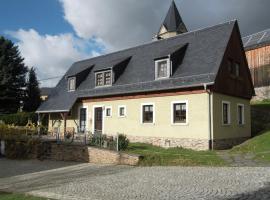 Apartment Ferienhof Im Vogtland 2, Schöneck (Brotenfeld yakınında)