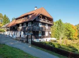 Apartment Altes Forsthaus 2, Dachsberg im Schwarzwald (Hierholz yakınında)