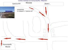 Agrousadba Mirnaya, Ozersko (Golovënchitsy yakınında)