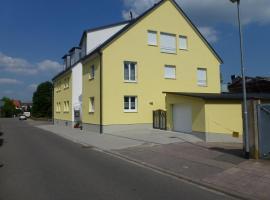 Ferienwohnung zur Stadtmauer, Bad Bergzabern (Pleisweiler-Oberhofen yakınında)