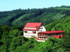 Hotel Vrsatec, Vršatské Podhradie (Brumov yakınında)
