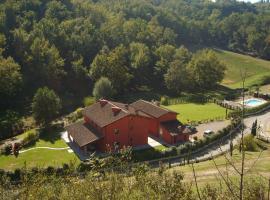 Casa Rossa, Reggello (Rota yakınında)