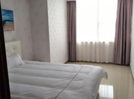 Baideng Shengdi Service Apartment Linyi Qiluyuan Square, Linyi (Dushutou yakınında)