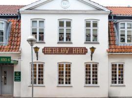 Herløv Kro Hotel, Herlev (Hareskovby yakınında)