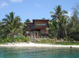 Kaireva Beach House, Rarotonga (Ngatangiia yakınında)