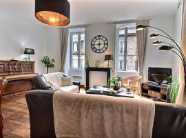 Au Fil du Temps Apartment, Ламбаль (рядом с городом Saint-Aaron)