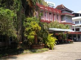 Athens-The Budget wing of Komala Hotel, Alleppey