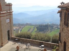 Casa di Maria Grazia, Monte Castello di Vibio (Monte Molino yakınında)