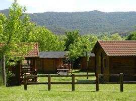 Camping-Bungalow la Vall de Campmajor, Sant Miquel de Campmajor (Mieres yakınında)