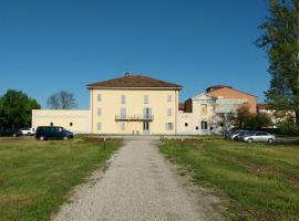 Villa Conti Zambonelli, San Giovanni in Persiceto (Sant'Agata Bolognese yakınında)