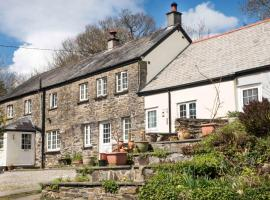 Coombe Cottage Smallholding Retreat, Callington (рядом с городом Stoke Climsland)