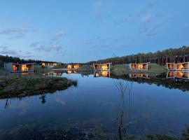 Relais du Silence Les Échasses Golf & Surf Eco Lodge, Saubion (рядом с городом Tosse)