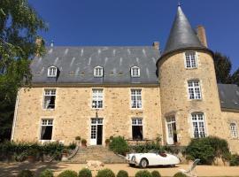 Chateau de VAUX, Yvré-l'Évêque