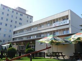 Hotel Sport, Štětí (Chudolazy yakınında)