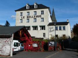 Hôtel Bellevue, Laveissière (Near Murat)