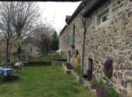 Gite Victoire, Saint-Alban-en-Montagne (рядом с городом Pradelles)