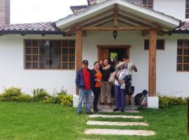 Acogedora Casa Vacacional, Cotacachi (Urcusiqui yakınında)