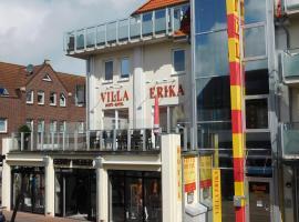 Suite Hotel Villa Erika, Borkum