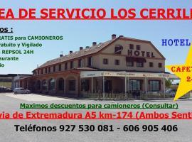 Area de Servicio los Cerrillos, Peraleda de la Mata (Navalmoral de la Mata yakınında)