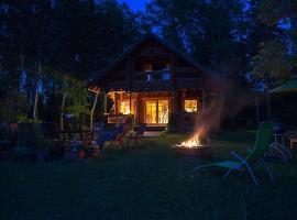 Neti Holiday House, Saunja (Kärbla yakınında)