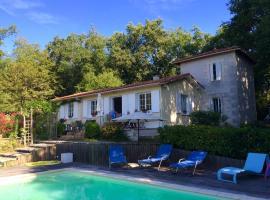 La Maison sur la Colline, Laprade (рядом с городом Aubeterre-sur-Dronne)
