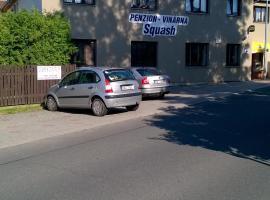 Squash penzion Hájek, Prague