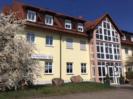 Hotel Garni am Rosenhügel, Jüchsen (Trostadt yakınında)