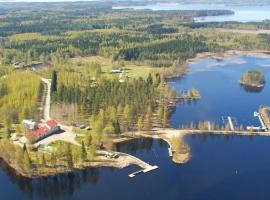 Paksuniemen Majatalo, Rääkkylä (рядом с городом Oravisalo)
