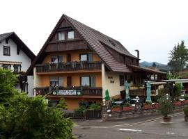 Gasthof Berger, Zell am Harmersbach (Oberentersbach yakınında)