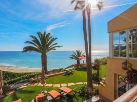 Oceanfront Malibu Estate w/ 2 Guesthouses, Malibu (in de buurt van West Hollywood)