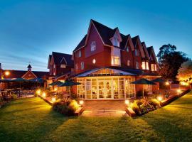 Hempstead House Hotel & Restaurant, Sittingbourne (рядом с городом Teynham)