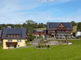 Landhotel zu Heidelberg, Seiffen (Deutscheinsiedel yakınında)