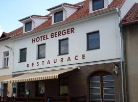 Hotel Berger, Kamenice nad Lipou
