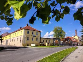 Wellness Hotel Brdy, Spálené Poříčí (Nezvěstice yakınında)
