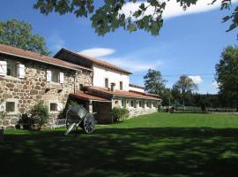 Gite le Retournas, Mezeyrac (рядом с городом Lachapelle-Graillouse)