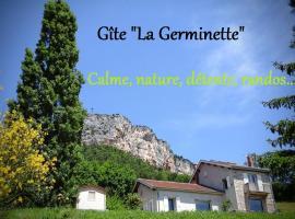 Gite La Germinette, Plan-de-Baix (рядом с городом Léoncel)