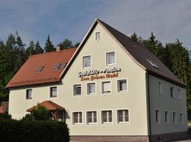 Pension Zum Grünen Wald, Feuchtwangen (Langfurth yakınında)