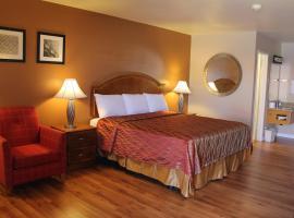 Franciscan Inn Motel, Vista