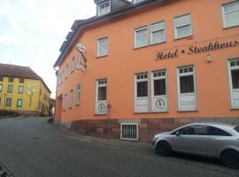 Hotel Steakhouse Am Rathaus, Tann (Klings yakınında)
