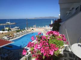 Hotel Milos, Agkístrin kaupunki