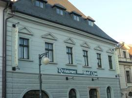 Hotel Opat, Kutná Hora (Rozkoš yakınında)