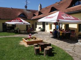 Penzion Pístina, Stráž nad Nežárkou (Stříbřec yakınında)