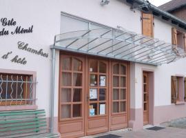 Gîtes et Chambres d'Hôtes du Ménil, Étival-Clairefontaine (рядом с городом La Voivre)