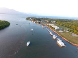 Lucinda Fishing Lodge, Lucinda (Orpheus Island yakınında)