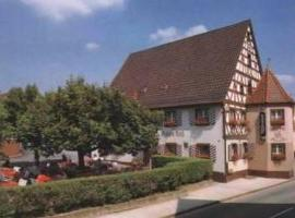 Hotel-Gasthof Rotes Roß, Heroldsberg (Eckental yakınında)