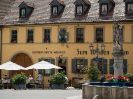 Gasthof zum Weißen Lamm, Sommerach (Schwarzach am Main yakınında)
